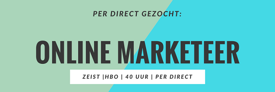 Online Marketing vacature