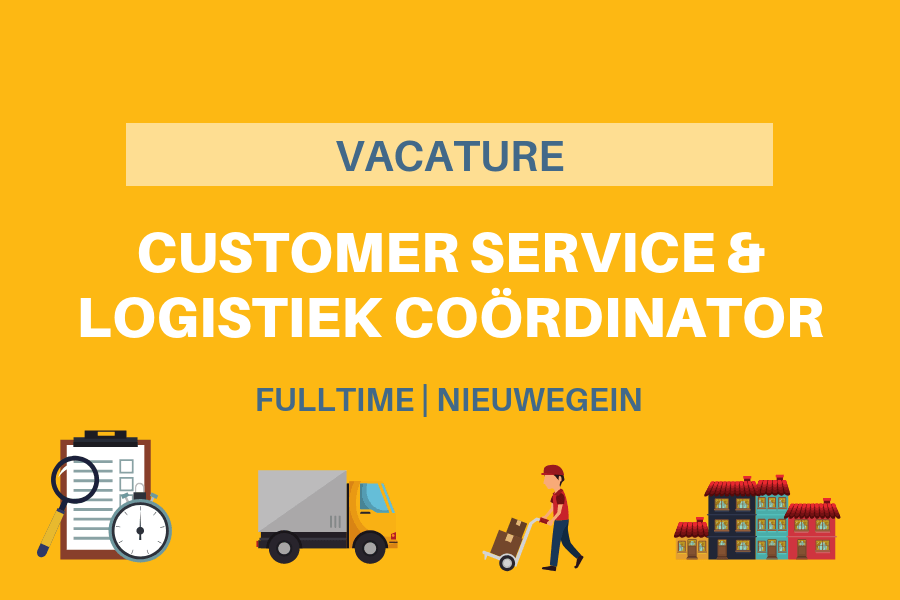 CS & LOGISTIEK COORDINATOR