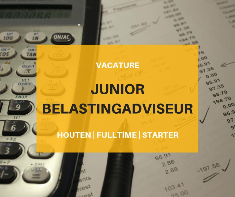 JUNIOR BELASTINGADVISEUR Vacature Go:Office