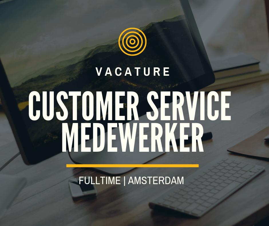 Customer Service Medewerker – Amsterdam