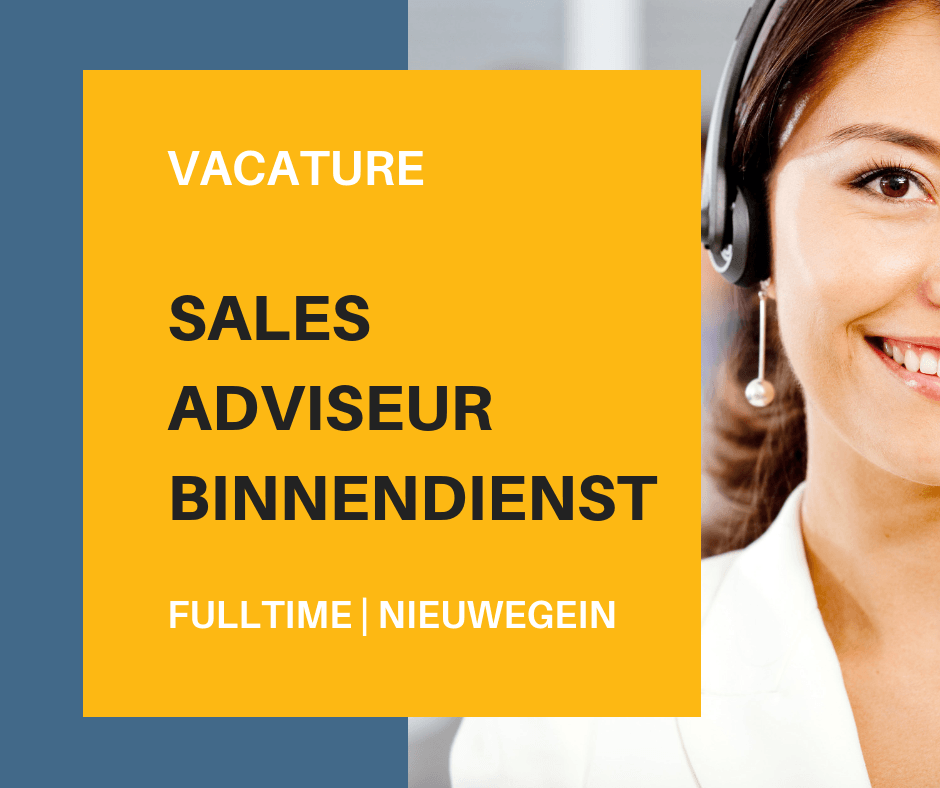 Sales Medewerker Binnendienst – Nieuwegein