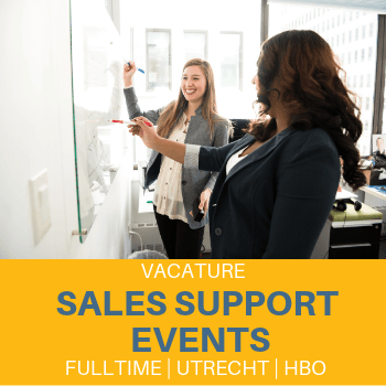 Sales Support Medewerker Events – Utrecht