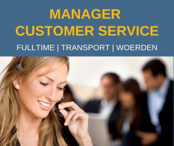 Manager Customer Service – Woerden